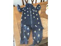 Minion onesie, pyjamas