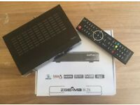 Zgemma H2H Twin Tuner Cable and Satellite Receiver with 12 months Warranty
