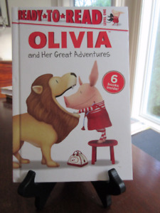 Ready to Read - Olivia (the pig ) & her great adventures 6 books