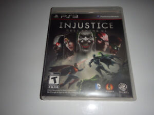 Jeux Injustice God among us PS3 game