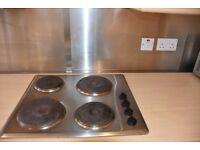 Stainless Steel Electric Hob (4 rings)