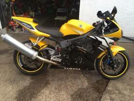 Yamaha r6 ltd edition 5sl