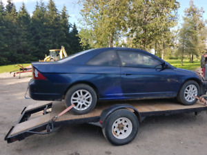 2001 Honda civic si coupe part out