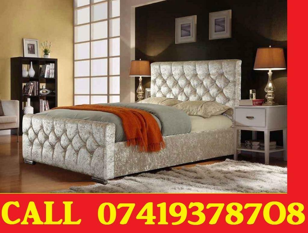 Special Offer Crush velvet Designer Double Single Kingsize Beddingin Barnes, LondonGumtree - Single double and king size, metal, bunk bed frame.Please contact me if you are interested.Thanks
