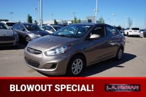 2014 Hyundai Accent GLS AUTOMATIC Accident Free,  Heated Seats,