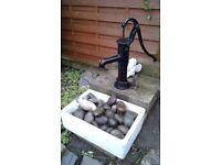 Ornamental garden pump