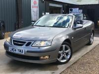 SAAB 9-3 VECTOR 1.8T Manual Petrol Convertible 2004 (04)