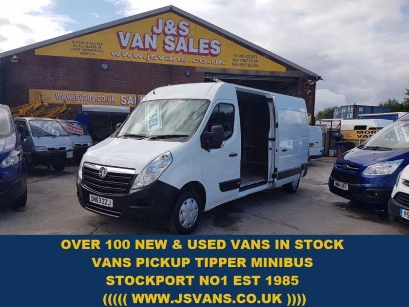 2013 63 VAUXHALL MOVANO 2.3 F3500 L3H2 CDTI LWB MED ROOF 125 BHP ( 68000 ) DIESE