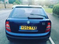 Skoda fabia 1.2 10 month mot 12 month tax Reliable car £395