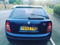 Skoda fabia 1.2 10 month mot 12 month tax Reliable car £395