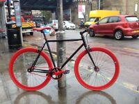 Brand new single speed fixed gear fixie bike/ road bike/ bicycles + 1year warranty & free service w3