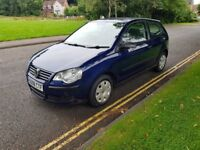 VW POLO 1.2, 3 DOOR HATCHBACK, LOW MILEAGE WITH F.S.H, FULL YEARS MOT