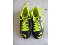 Kids Sondico Venetta football boots for sale. Size 12. Only worn once - £7.50
