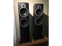 Wharfedale Crystal 30.4 floor speakers with stands