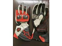 Alpinestars Leather Bike Gloves