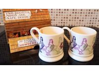 Brand New in Box - Emma Bridgewater (exclusive for Howdens Joinery) 2 x Rooster Mugs with Box