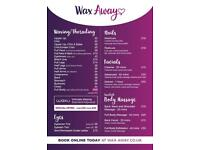 Waxing facial beauty treatments in Birmingham - ladies only