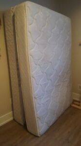 Frame, Double Mattress and Box Spring