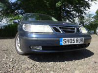 05 SAAB 9-5 LINEAR TID DIESEL 2.2 ESTATE,MOT JAN 018,3 OWNERS FROM NEW,FULL SERVICE HISTORY,2 KEYS