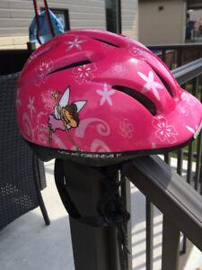 Casque de vélo pour petite fille