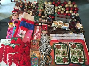 MEGA Amount Of Christmas Items! PRICE: Please Contact