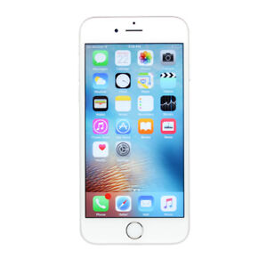 LIKE NEW IPHONE 6S SILVER ROGERS AND CHAT-R 32GB