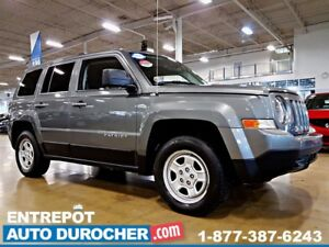 2012 Jeep Patriot SPORT - AUTOMATIQUE - AIR CLIMATISÉ