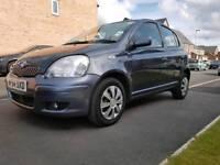 Toyota Yaris 1.0 VVT-I 2004 5 DOOR. LTD EDITION BLUE. LONG MOT. CLEAN CAR. CHEAP FUEL & INSURANCE