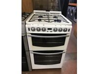 55CM WHITE STOVES GAS COOKER