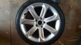 Audi TT. Alloy wheel