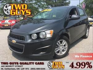 2015 Chevrolet Sonic LT GREAT KMS! ALLOYS A/C