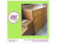SALE NOW ON!! Solid Chest of Drawers - Can Deliver For £19