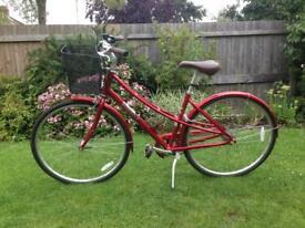 Red Pinnacle Californium Women's Hybrid Bike