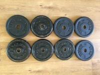 5kg cast iron plates
