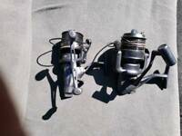 2 Carp fishing reels for sale