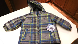 12 Months boys.Arctic Frost winter coat.BRAND NEW w/ tags & mits