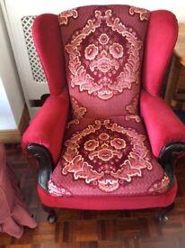 Fabulous Wing Back Lounge Chair