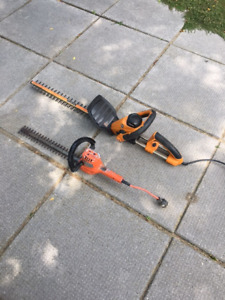 2 Electric Hedge Trimmers