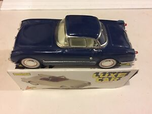Toy  tin Corvette