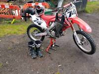 Crf450 off road bike