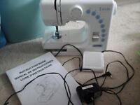 SEWING MACHINE,as new COMPACT JANOME 145 M