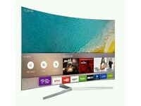 """Samsung 49"""" curved 4k UHD new KU6500 Series LED SMART WI-Fi HDR TV BUILT IN HD FREEVIEW ."""