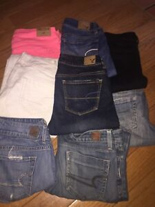 American Eagle jeans size 0-2