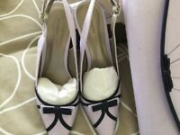 Jaques Vert ladies shoes size 6 and matching bag