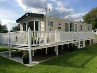 Static Mobile home, Lakeside position in the Cotswolds