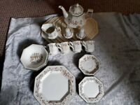 Eternal Beau Teaset and plates.