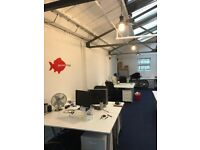 Cool, Bright and Spacious Office Desk Space(s) in Primrose Hill (Camden / Regents Park)