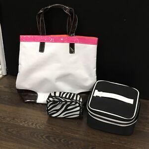 Tote & Makeup Bag Set