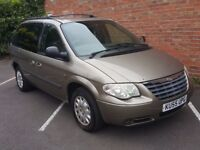 BARGAIN 7 SEATER A/C TOW BAR - 2005 P/X TO CLEAR Chrysler Voyager 2.5 CRD SE Plus 5dr