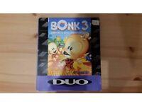 Bonk 3 Bonk's Big Adventure Turbo Grafx 16 Rare